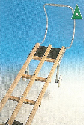 Timber Roof Ladders