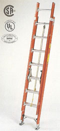 Fibre Glass Industrial Ladder