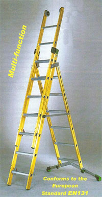 Glassfibre Combination Ladder