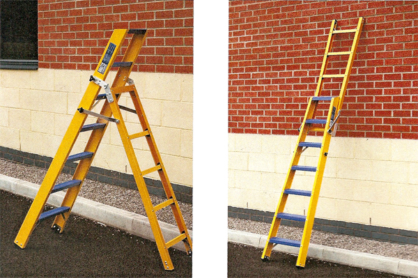 Glass Fibre Ladder Steps