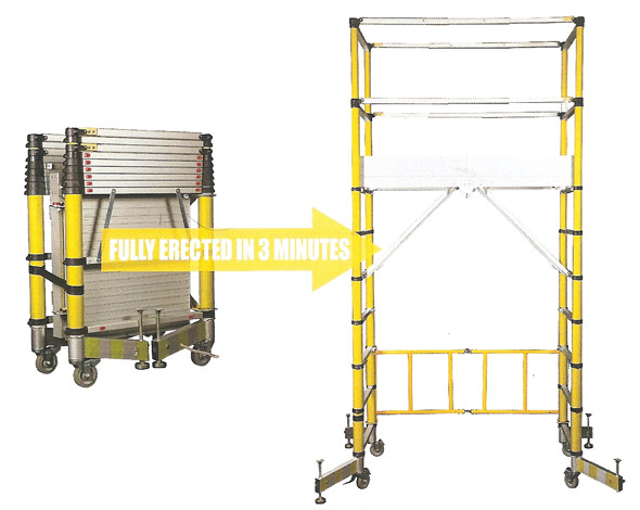 Glass Fibre Combination Ladder