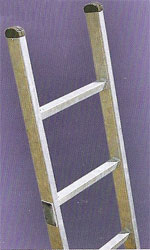 Galvanised Steel Ladders