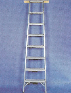 Aluminium Shelf Ladder