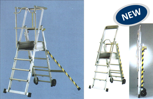 Sherpa Aluminium Telescopic Step Ladder